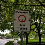 Kein Event-Training wegen Hochwasser 22.05.2019